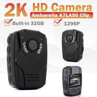 BOBLOV S60 2 K HD Ambarella A7LA50 тела личной безопасности полиции Камера Ночное видение 6 час видео Регистраторы Встроенный 32 ГБ памяти