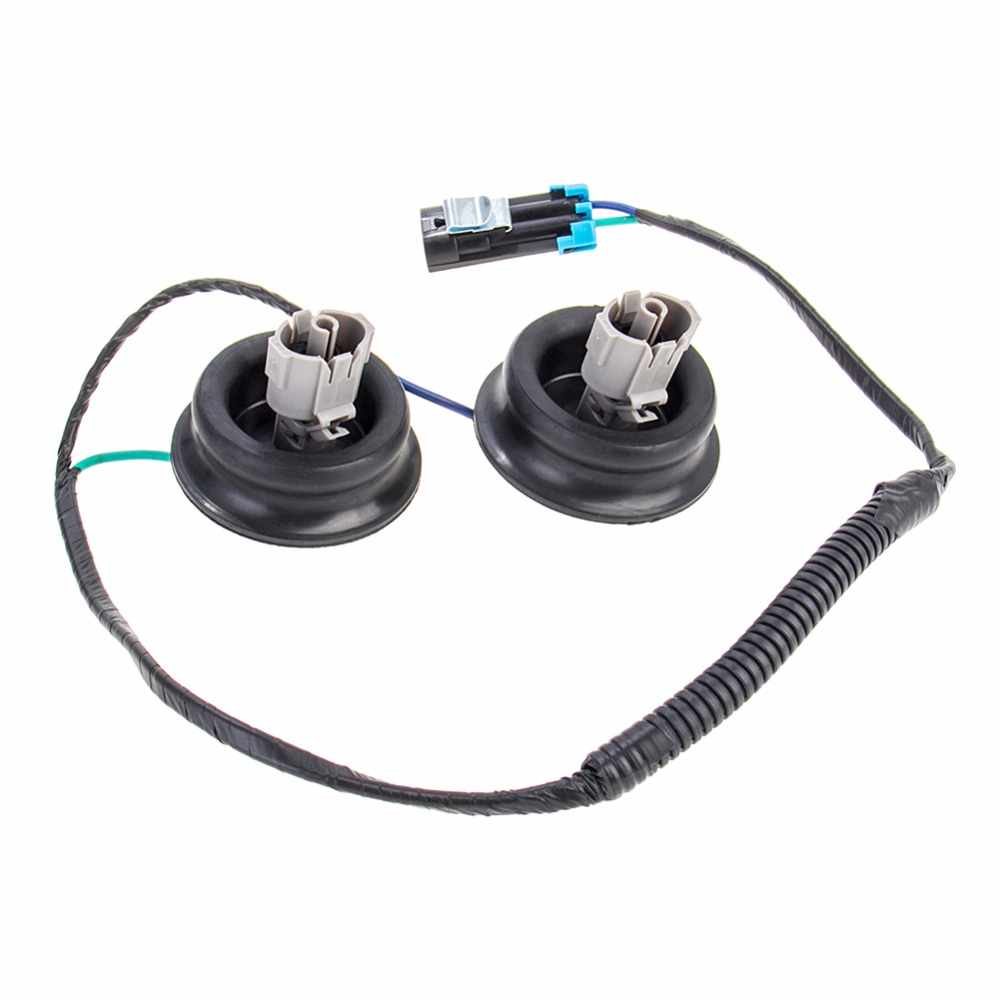 Carbole Knock Sensor With Harness Pair Kit Set For Chevy Gmc Silverado Cadillac Oe 10456603 12589867 In Detonation From Automobiles Motorcycles On
