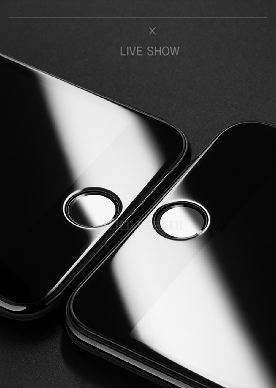 MOUSEMI 6D Full Protective Glass For iPhone X 9H Screen Protectors Film Curved Edge For iPhone 7 8  6s 6 Plus Tempered Glass On (12)
