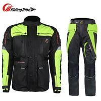 Riding Tribe Motorcycle Off Road Jacket Waterproof Racing Jackets Motocross Drop Resistant Clothes Motos Jaqueta Chaqueta