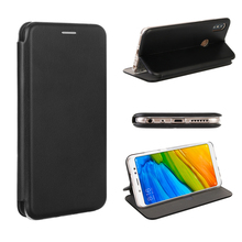 BlackMix Flip Case For Xiaomi Redmi Note 5 Pro Note 6 Pro Cover Magnetic Book Cover For Leather+TPU For Xiaomi Redmi Note 5