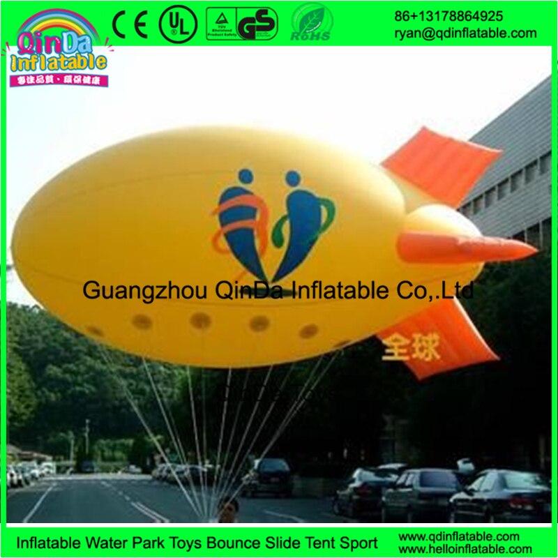 Wholesale inflatalbe helium balloons advertising inflatable flying boat balloon inflatable balloon
