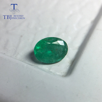 Tbj ,Natural good color zambia emerald ovar 5*7mm 0.75 ct natural gemstone for gold jewelry,100% natural emerald loose gemstone