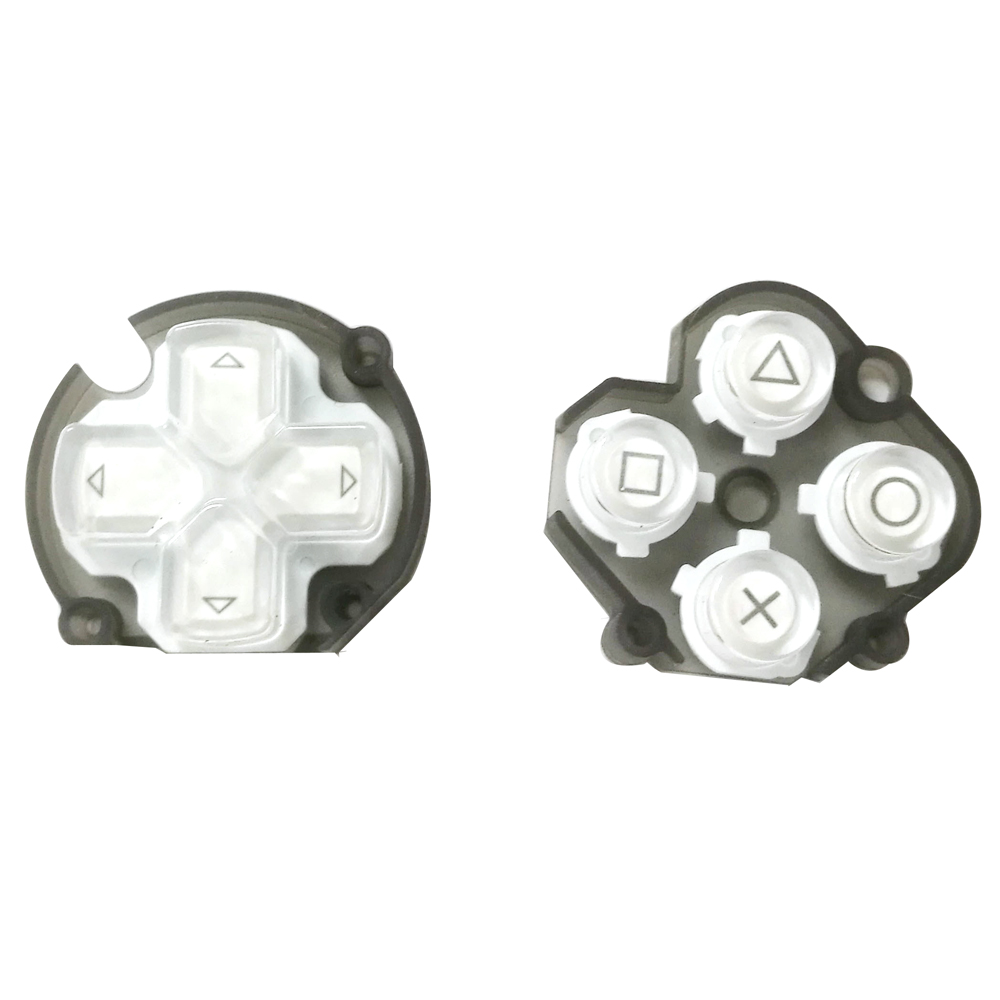 50pcs a lot For PSV1000 direction button and  cross key PSV function button repair parts50pcs a lot For PSV1000 direction button and  cross key PSV function button repair parts