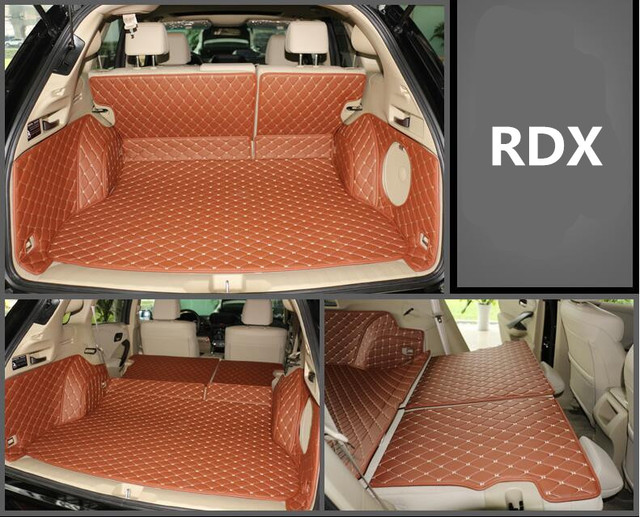 Full Rear Trunk Tray Liner Cargo Mat Floor Protector Foot Pad Mats For 13 17 Acura Rdx 2017 2016 6colors