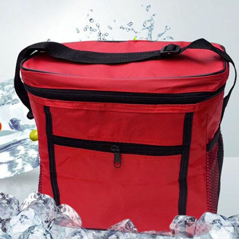 Large Thicken Cooler font b Bag b font Folding Fresh Keeping Cooler font b Bags b