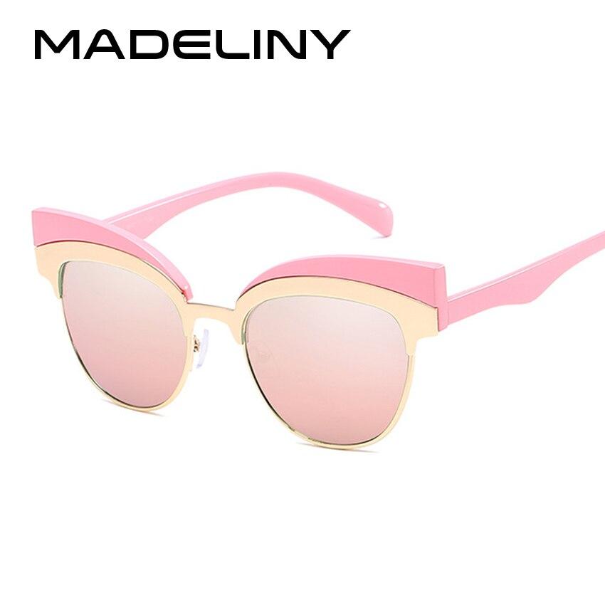 Madeliny nueva moda gato ojo Gafas de sol mujeres marca diseñador ...