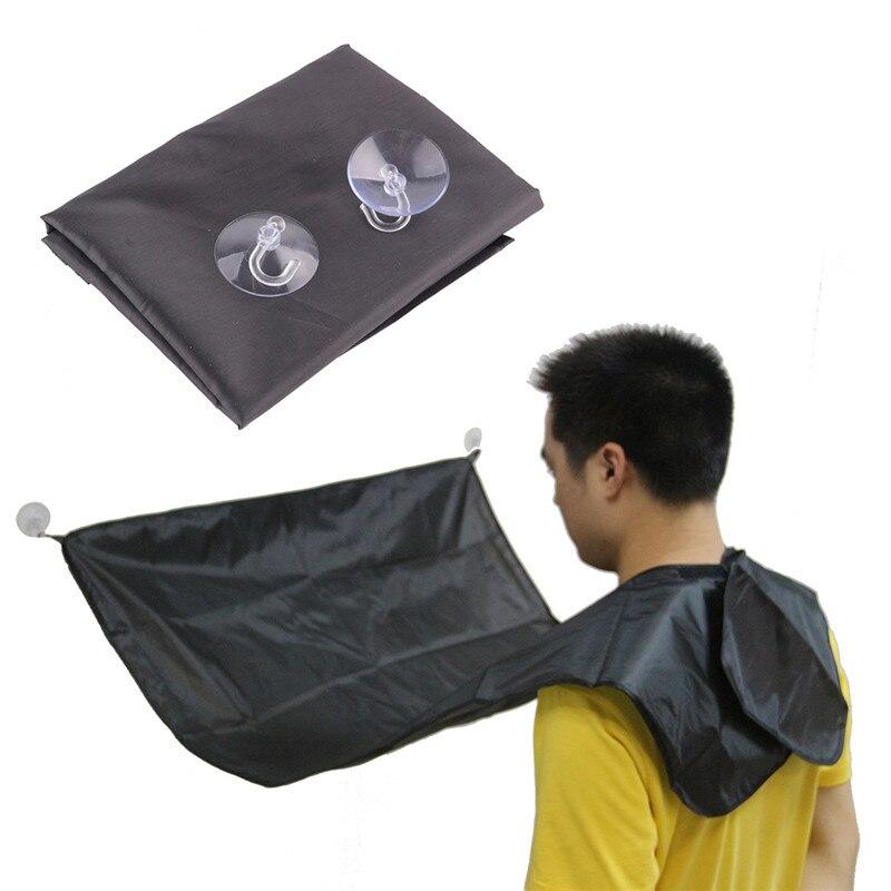 플라스틱 방수 남자 수리 수염 면도 머리 컷 앞치마 비브 욕실 홈 가정용 청소 도구 제품 머리 절단
