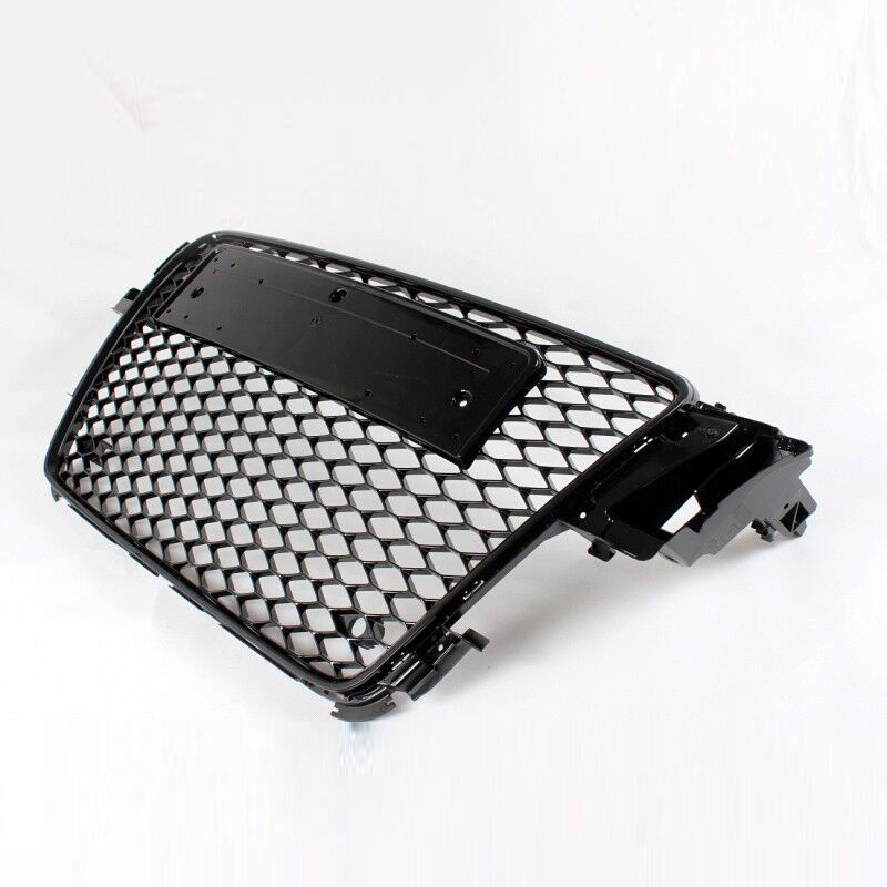 A5 Black ABS Car Styling Exterior Parts Front Mesh Grill Grille for Audi A5 2Door 4Door