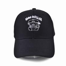 High Quality Cotton Swimming Mac Miller Snapback Cap Men Women Hip Hop Dad Hat Baseball Bone Garros Dropshipping