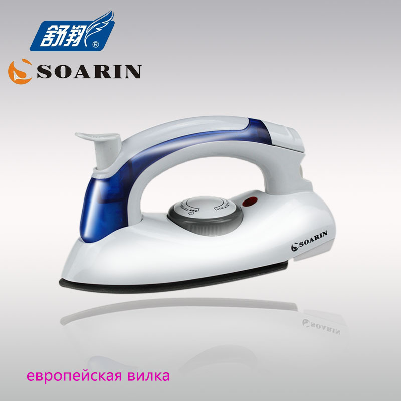 SOARIN Steam Iron Mini Travel Iron Irons Steam Clothes Steamer Portable Steam Iron for Ironing Clothes Iron Steam Generator electric iron vitek vt 1266 for ironing irons steam household for clothes burst of steam electricsteam electriciron