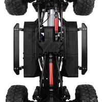 INJORA 1PCS Black Red Metal Drive Shaft for 1/10 RC Crawler Car Traxxas TRX4 Axial SCX10 90046 D90 TF2 RC Car Part 6