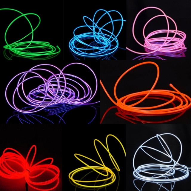 Useful 3m 5m Neon Light With Controller Dance Performance Neon Led