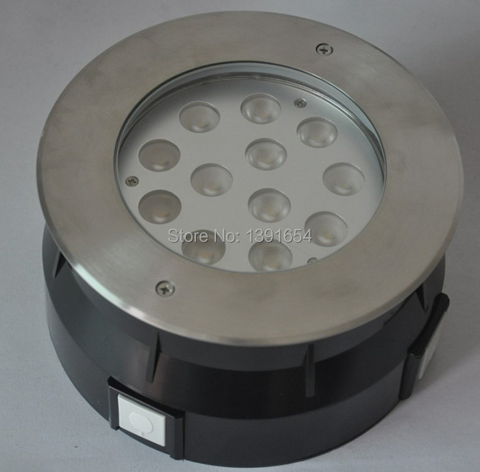High Quality 304 Stainless steel IP68 36W White Warm White Swimming Pool Light ,Underwater Led Light image