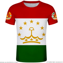 TADSCHIKISTAN t hemd diy freies nach maß name anzahl tjk T Shirt nation flagge tj tajik land college foto druck text 0 kleidung