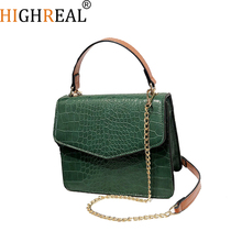 Bags For Women Luxury Handbags Women Bags Designer Crocodile Pattern Leather Shoulder Messenger Bag bolsa mujer sac a mains