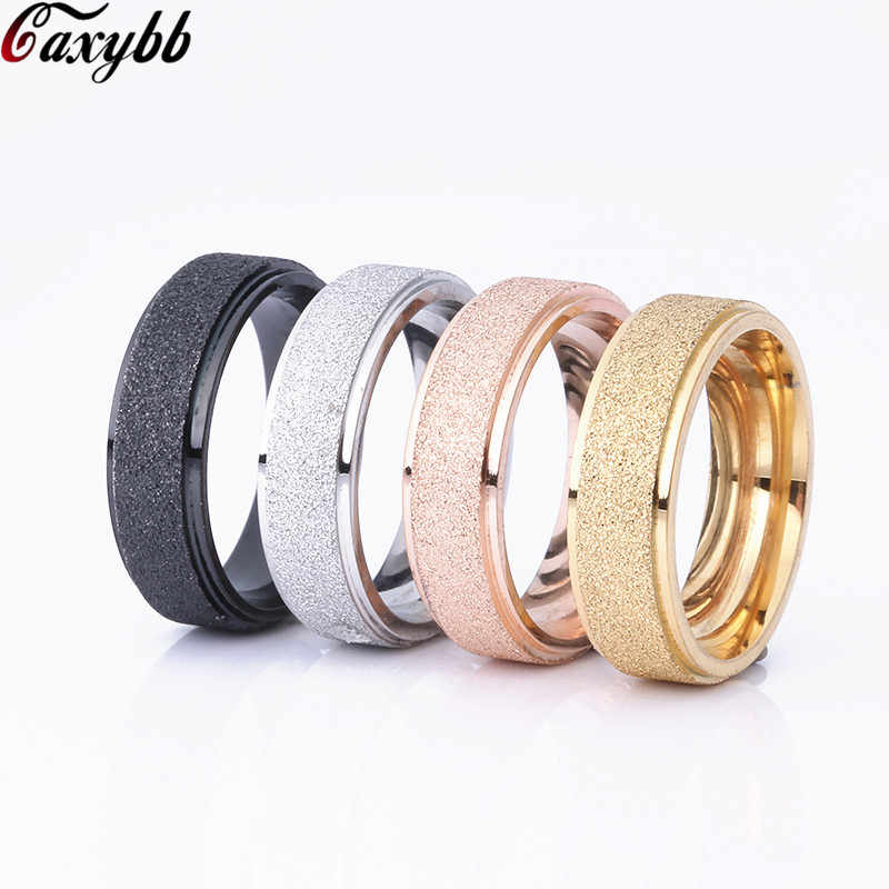 Stainless Steel Rings For Women Three Colors Lines Trendy Wedding Rings Fashion For Women Party Jewelry Wholesale
