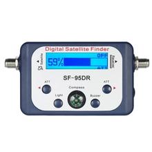Professional Digital Satellite Finder Signal Meter with LCD Satfinder Compass