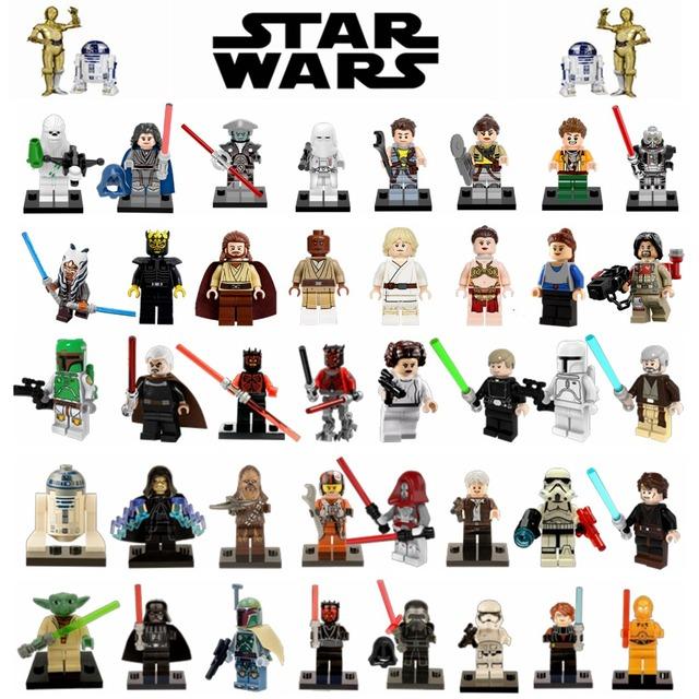 2017 Newest & Classic Rogue One Star Wars Jedi Knight Clone Soldier The Bounty Hunter Sith Starwars Blocks Toys