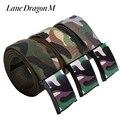 [Pista Dragão M] Novos Homens E Mulheres quentes Camuflagem Cinto de Lona Lazer Moda Selvagem Cinto 3 Cor Neutra D0064