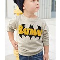 2016 new autumn long sleeved T-shirt style children Childrens Boys Batman Hoodie baby boy clothes