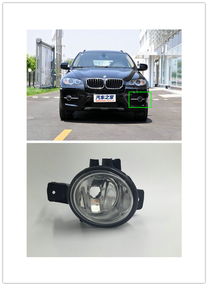 OEM Fog light  driving lamp For Replacement BMW  X6  E71 (2007-2012) 1 PCS New