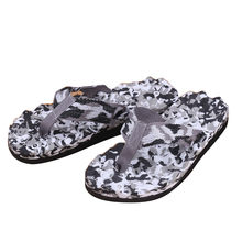 Comfort Sandals Summer Men Camouflage Flip Flops Shoes Sandals Open Toe Slipper indoor & outdoor Flip-flops 40-45 Male Shoes(China)