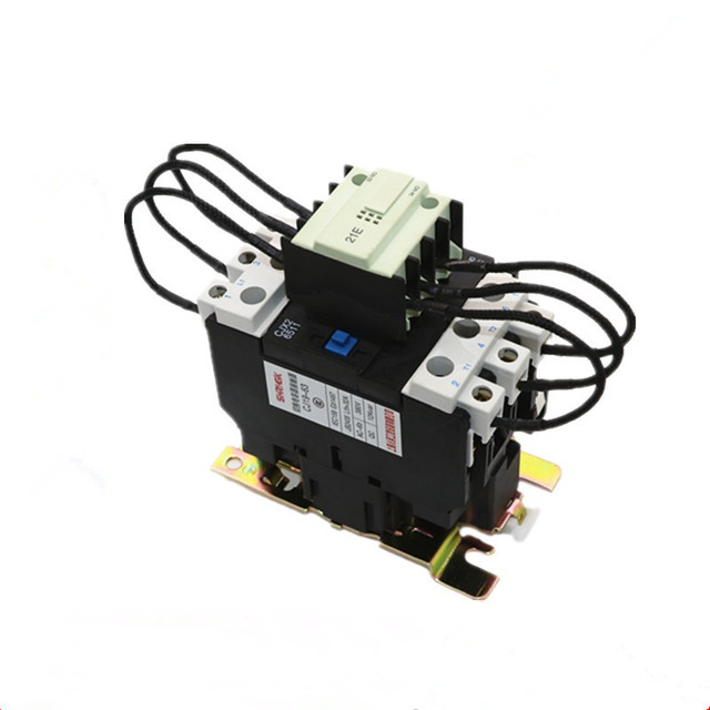 US $540CJ19 63 Ui 500V 220V Coil 63A Pole 1NO Changeover Capacitor AC  Contactor -in Contactors from Home Improvement on Aliexpress Alibaba