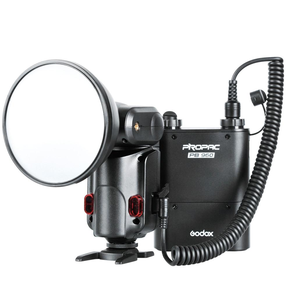 GODOX Witstro AD180 Powerful&Portable Flash Kit Including AD180 Flash Speedlite + Black PB960 Power Battery Pack