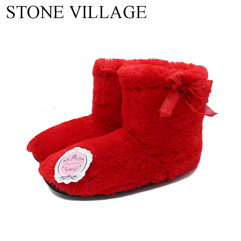 New Arrival 2018 Winter Nice And Warm Indoor Shoes For Women Soft Fleece At Home Cotton Shoes Floor Slippers Female Home Shoes warm at home women slippers cotton shoes plush female floor shoes candy color soft bottom fleece indoor shoes woman home slippe