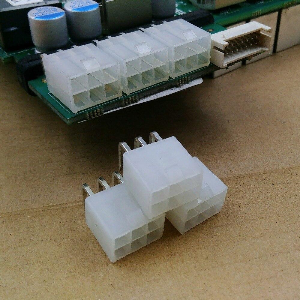 50pcs 6-pin connettore di alimentazione connettore looper per Asic minatore antminer S9 S9k S9j l3 DR3 T9 Z11 z9 B7 X3 A4 A9 M3 Z1PRO Eibt E10.2