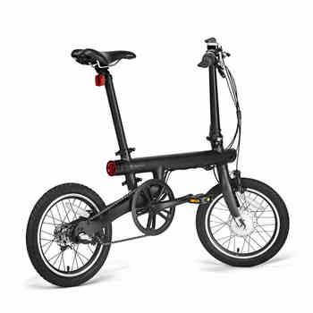 Mijia 16 pulgadas bicicleta eléctrica 36v batería de litio mini fold ebike urbana eléctrica ayudar bicicleta inteligente sensor de par bicicleta