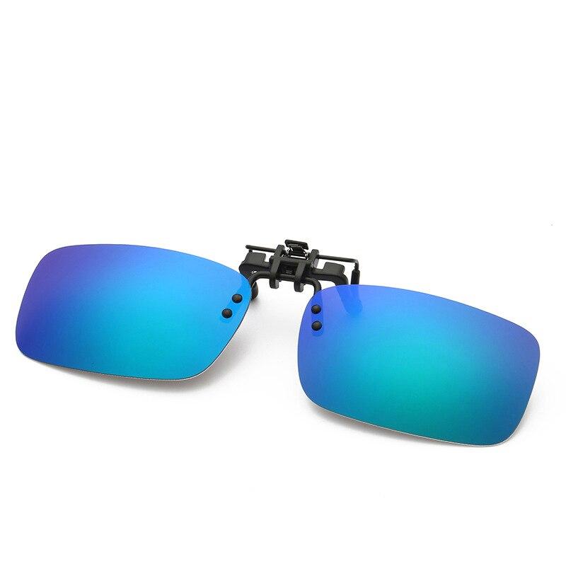 Eyeglasses Frame Sunglasses Clip Brand Polarized Lens Men/Women Coating Myopia Clip Sun Glasses Night Vision Driving Glass 2202