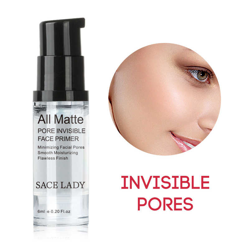 SACE LADY Face Pores Hydrating Makeup Base Primer Liquid Moisturizer Whitening Cosmetic Long Lasting Facial Makeup  TSLM1