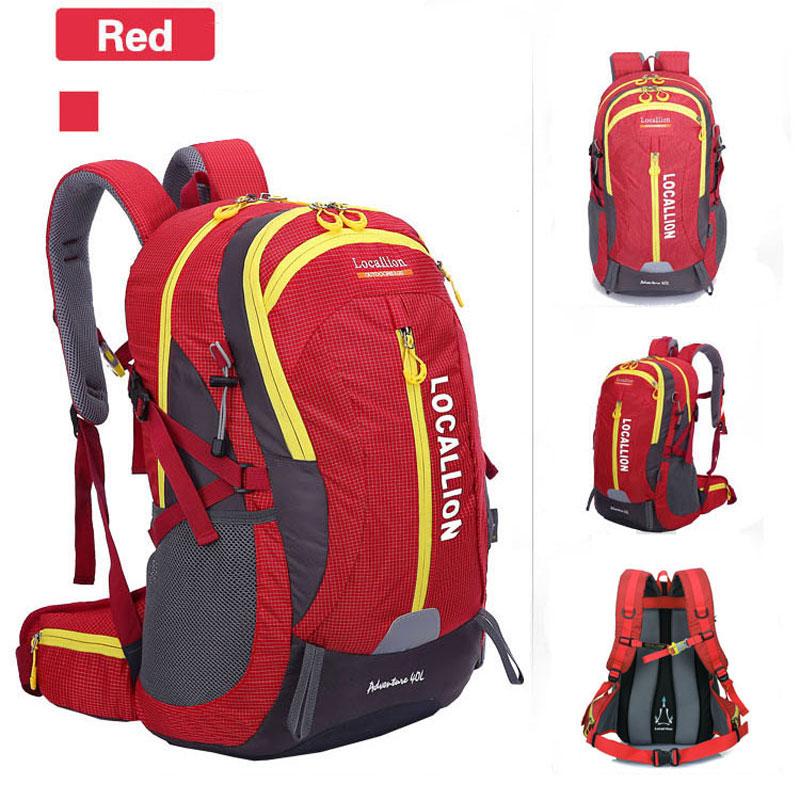 40L sac à dos extérieur Camping sac étanche alpinisme randonnée sacs à dos sac de Sport escalade sac à dos