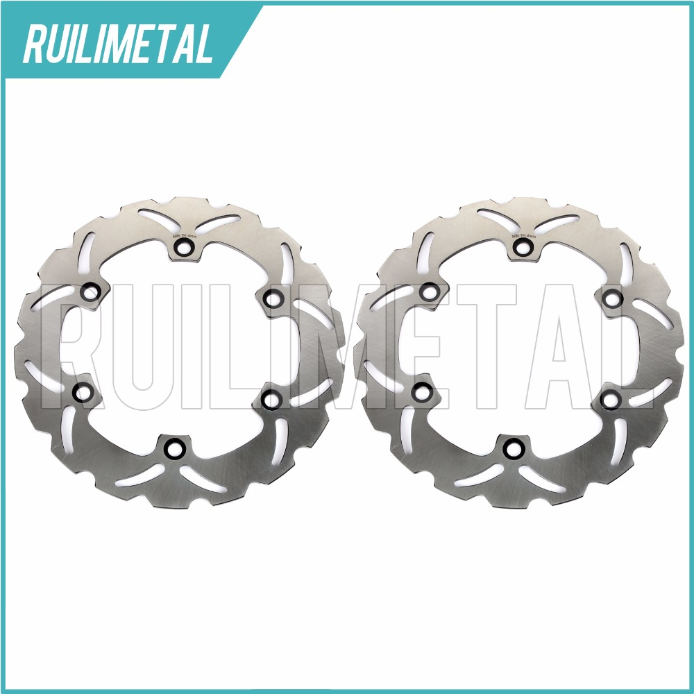 Front Rear Brake Discs Rotors for HONDA SH i ABS scooter 300 2006 2007 2008 2009 2010 2011 2012 2013 2014 2015 цена и фото