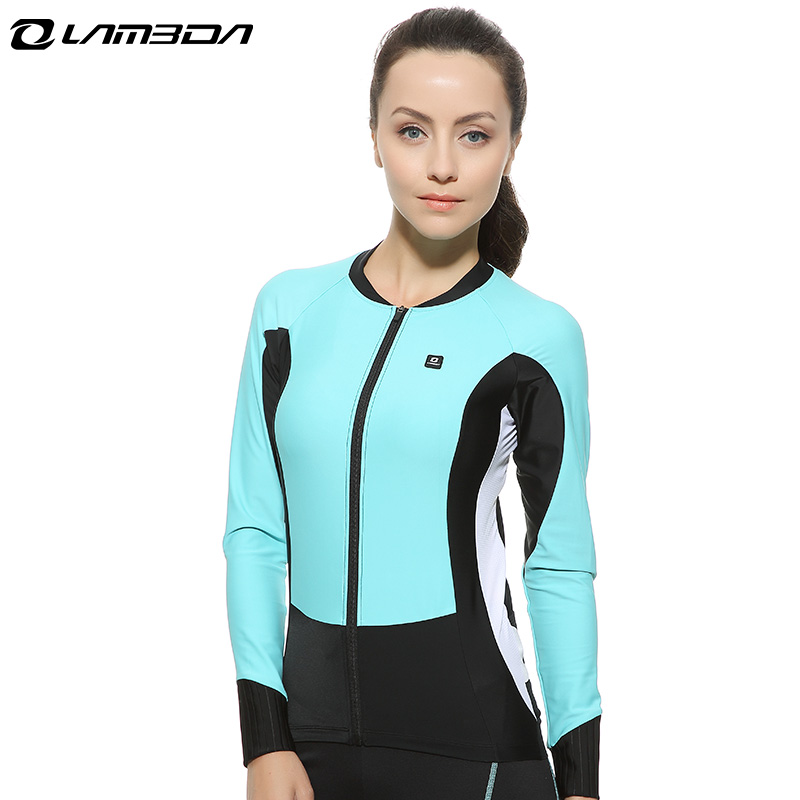 women long Sleeve cycling Jersey  breathable cycling clothing quick dry  bike bicycle Jersey outdoor sports Jersey bike team long sleeve breathable outdoor cycling sets 3d gel padded quick dry bicycle apparel clothing cycling jersey sets h021
