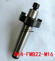 Free Shipping 1PCS MT4 FMB22 M16 Combi Face Mill Arbor Shell end mill arbor Morse taper tool holder