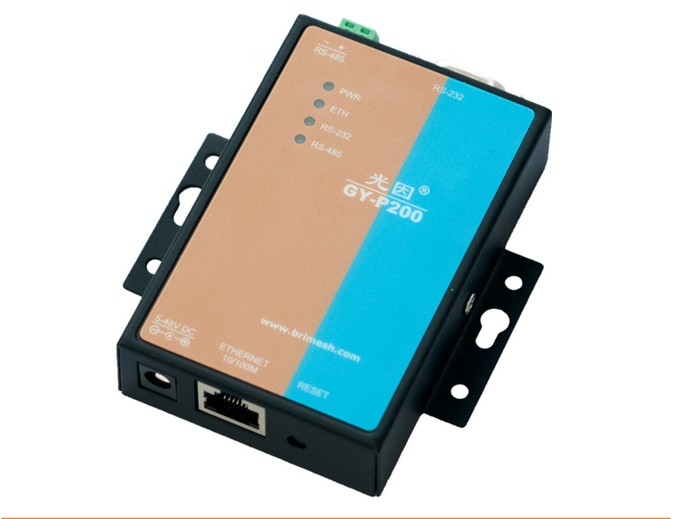 2 Channels Serial Device Server Modbus Gateway RS232 RS485 to Ethernet TCP IP VCOM 32bit CPU
