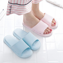Home Slippers Summer Pink Platforms Beach Sliders Shoes Woman Flat Pantoufle Femme Indoor Women Badslippers
