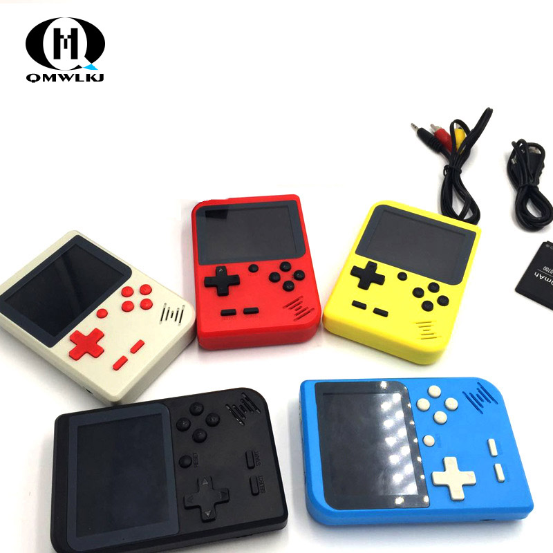 Handheld Game Console Video Game 8 Bit Portable Mini Retro Game Console 168 Games children boy nostalgic  Player-in Handheld Game Players from Consumer Electronics