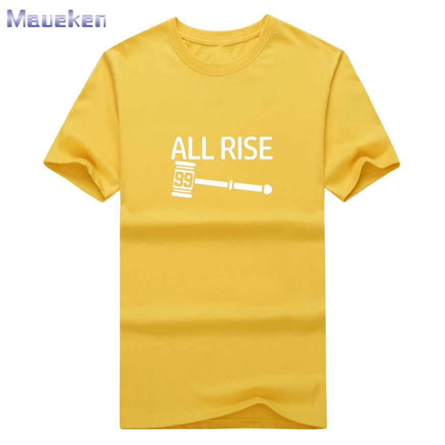 new style 9c04b e100d 2017 All Rise Aaron Judge Judgement Day tshirt tee t SHIRT 100% cotton for  fans gift funny T Shirt 0820 7-in T-Shirts from Men's Clothing & ...