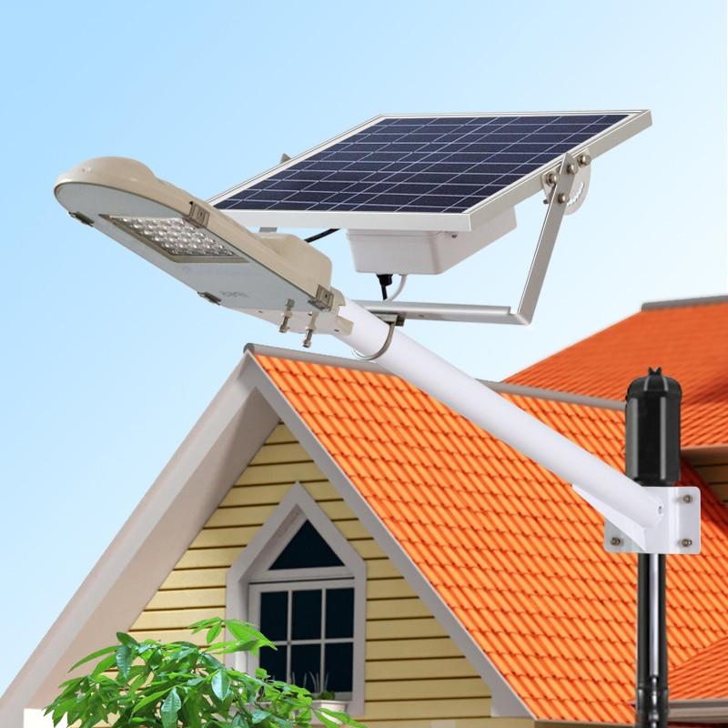 Street Light With Solar Panel: 5PCS 960Lumens 12v 16W Solar Panel Powered Led Garden Lamp