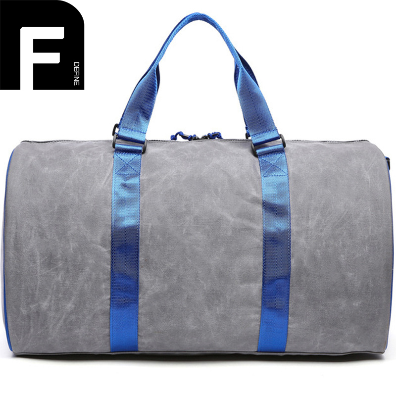 2017 Hot Selling Men's Handbag Casual Canvas Shoulder Bag Large Capacity Canvas Travel Luggage Bags Portable Duffle Tote the new europe and america portable shoulder bag handbag large capacity portable shoulder bag business travel luggage bag