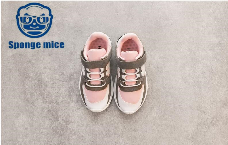 2018 Spong mice autumn children canvas shoes girls boys shoes Breathable casual shoes 0825