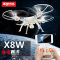 Syma x8w profissional voando zangão helicóptero com wifi fpv hd camera vs leason ls960 gopro zangão quadcopter