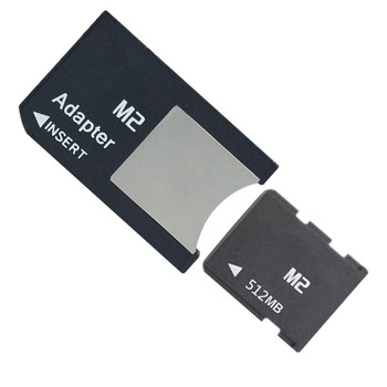 10pcs/lot 64mb 128mb 256mb 512mb M2 memory card Memory Stick Micro with Card Adapter MS PRO DUO