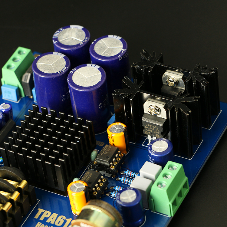 Electronic Equipment Supplies Amp Services : Tpa headphone amplifier hifi amp board kit for diy ac