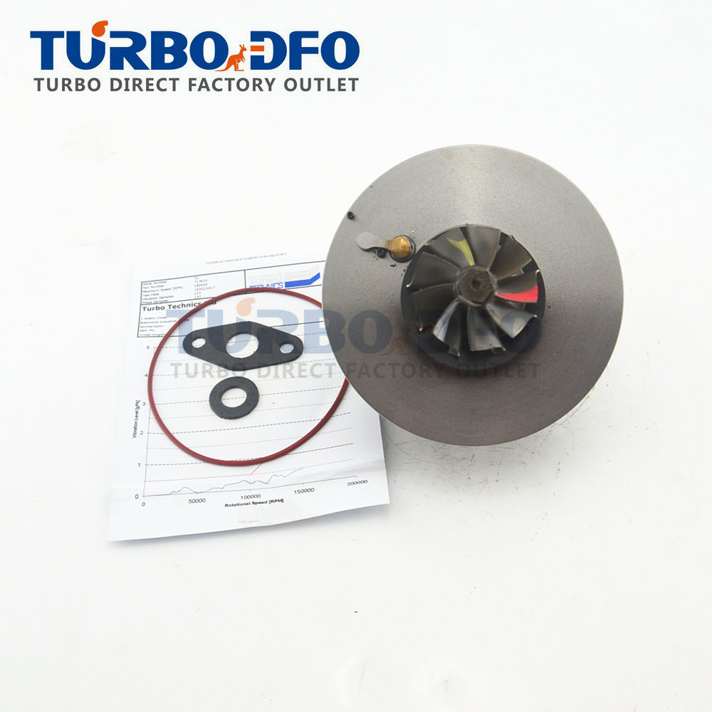 New turbo parts GT18V turbocharger cartridge core CHRA 717626-1 for Opel Vectra C Signum 2.2 DTI Y22DTR 92 KW 24443096 24445062 image