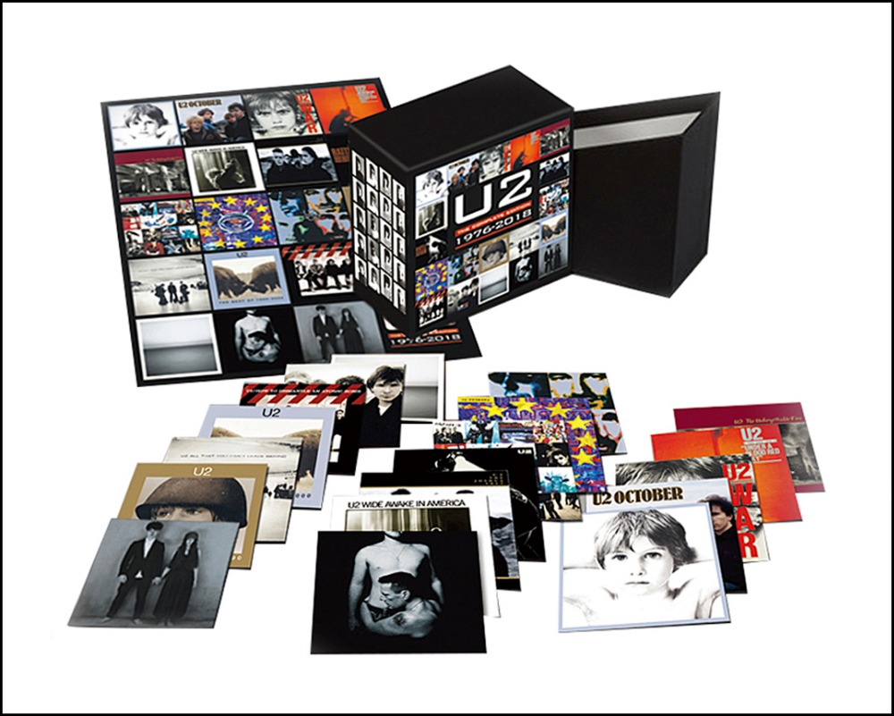 2018 New U2 CD BOX SET The Complete Edition 1976-2018 22CD music cd box set Boxset Free Shipping cd диск pink floyd wish you were here immersion box set 5 cd